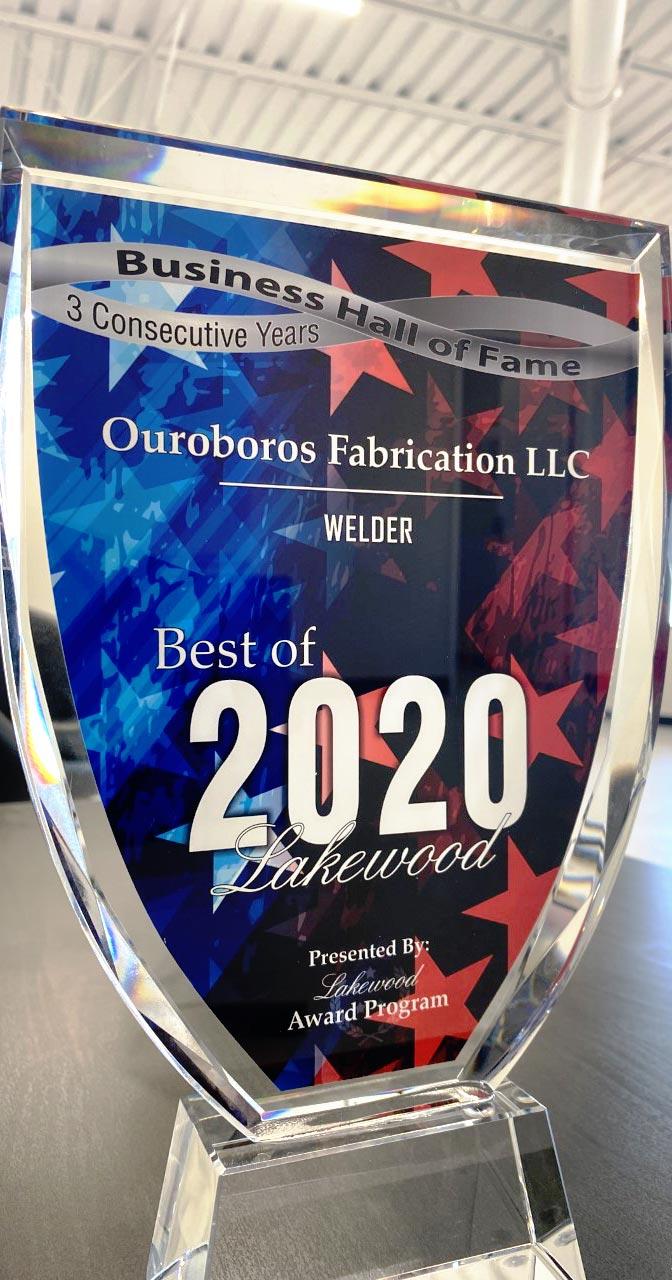 Ouroboros Fabrication Award
