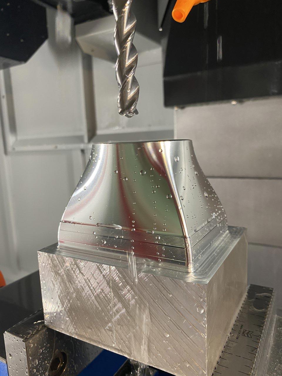 Aluminum 3D Surfacing