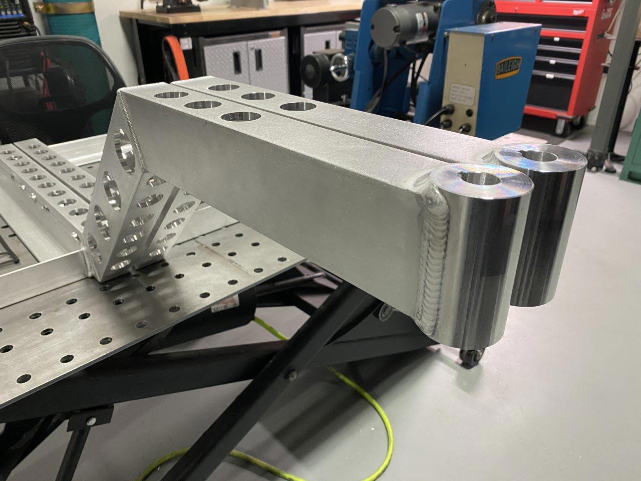 Aluminum Robotics Assembly